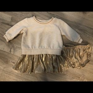 EUC Gymboree Sweater Dress with Bloomers